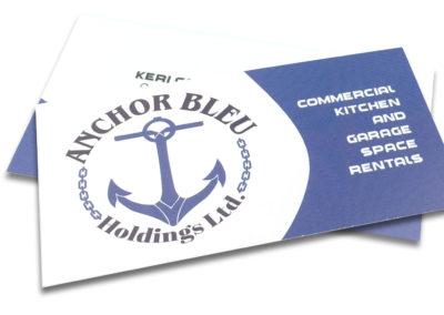 Graphic Design Edmonton RVC_BusinessCards-BleuAnchor