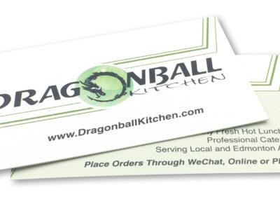Graphic Design Edmonton RVC_BusinessCards-DragonBallKitchen
