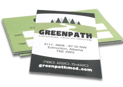 Graphic Design Edmonton RVC_BusinessCards-GreenPath