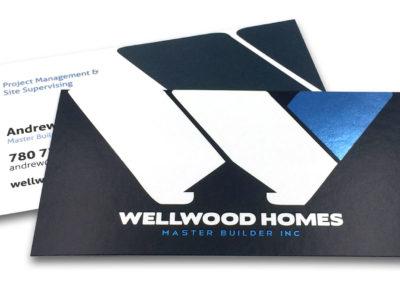 Graphic Design Edmonton RVC_BusinessCards-WellwoodHomes