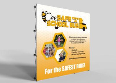 Graphic Design Edmonton RVC_DisplayBooth_BeeSafe_1536x1284