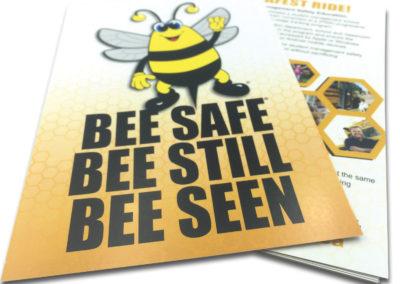 Graphic Design Edmonton RVC_Postcards-BeeSafe