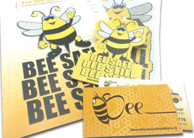 Graphic Design Edmonton RVC_PrintPkg-BeeSafe-II