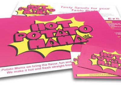 Graphic Design Edmonton RVC_PrintPkg-HotPotatoMama